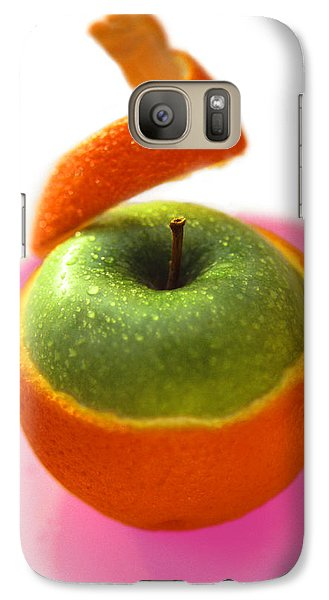 Galaxy Case featuring the photograph Oranple by Richard Piper