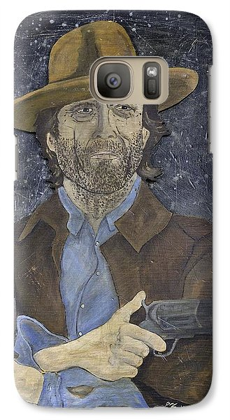 Galaxy Case featuring the painting Outlaw Josey Wales by Eric Cunningham