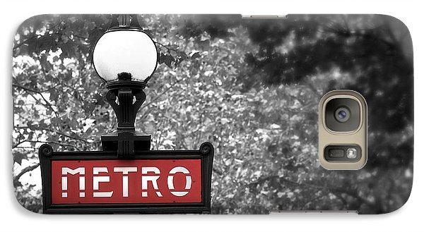 Paris Metro Galaxy S7 Case
