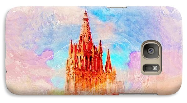 Galaxy Case featuring the photograph Parish Of St. Michael The Archangel by John  Kolenberg