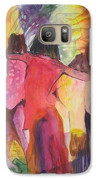Galaxy Case featuring the painting Passage by Diana Bursztein