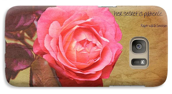 Galaxy Case featuring the photograph Patience by Erica Hanel