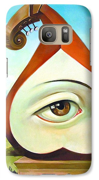 Violin Galaxy S7 Case - Musical Pear by Filip Mihail