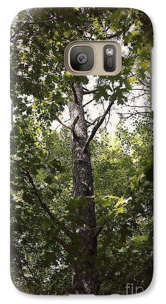 Galaxy Case featuring the photograph Peeking Through by Paul Cammarata