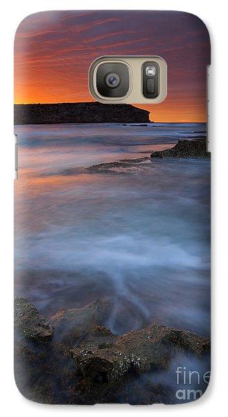 Kangaroo Galaxy S7 Case - Pennington Dawn by Mike  Dawson