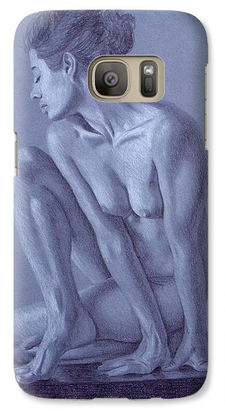Galaxy Case featuring the painting Perched  by Joseph Ogle