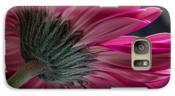 Galaxy Case featuring the photograph Pink Flower by Edgar Laureano