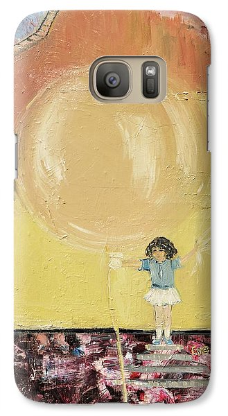 Galaxy Case featuring the painting Playground by Evelina Popilian