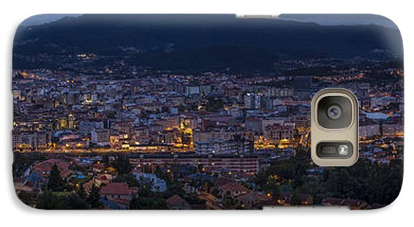 Galaxy Case featuring the photograph Pontevedra Panorama From A Caeira by Pablo Avanzini