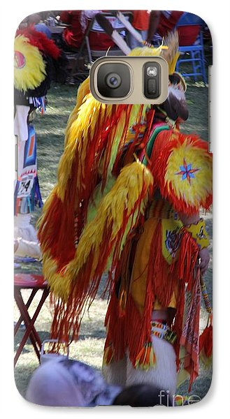 Galaxy Case featuring the photograph Pow Wow Series by Yumi Johnson