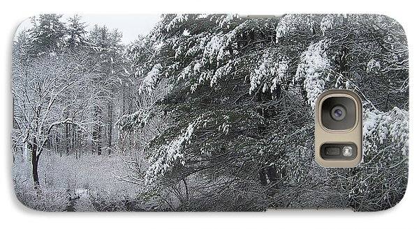 Galaxy Case featuring the photograph Powdered Sugar by Eunice Miller