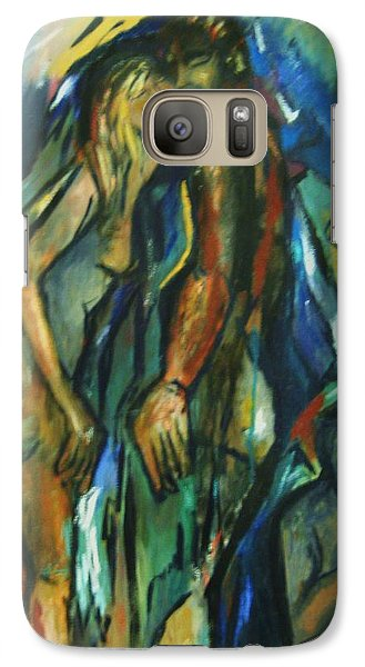 Galaxy Case featuring the painting Prelude by Dawn Fisher