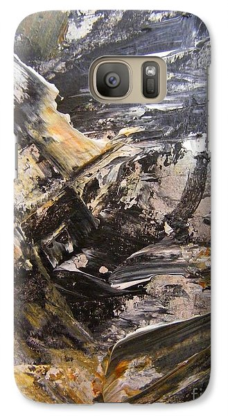 Galaxy Case featuring the painting Quest For Coal by Nancy Kane Chapman