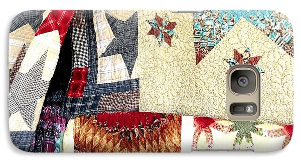 Galaxy Case featuring the photograph Quilts For Sale by Janette Boyd