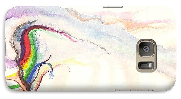 Rainbow Tree Galaxy S7 Case by Rod Ismay
