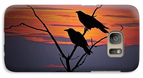 2 Ravens Galaxy S7 Case