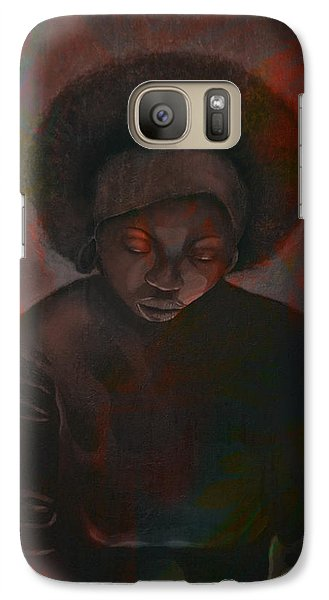Galaxy Case featuring the painting Reciprocity by AC Williams