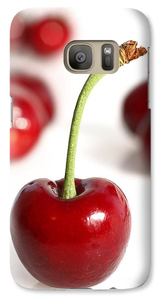 Galaxy Case featuring the photograph Red Cherries by Craig B