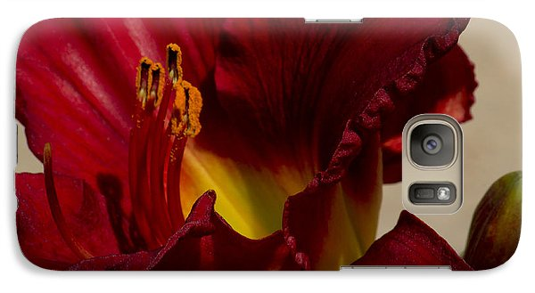 Galaxy Case featuring the photograph Red Lily by Ivete Basso Photography