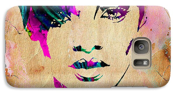 Rhianna Collection Galaxy Case by Marvin Blaine