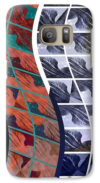 Galaxy Case featuring the photograph Ribbons by Steve Godleski