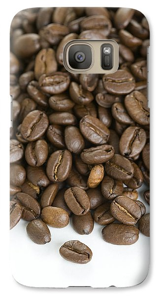 Galaxy Case featuring the photograph Roasted Coffee Beans by Lee Avison