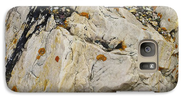 Galaxy Case featuring the photograph Rock Art by Rhonda McDougall