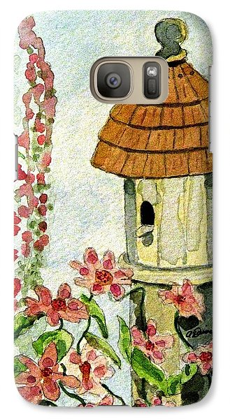 Galaxy Case featuring the painting Room With A View by Angela Davies
