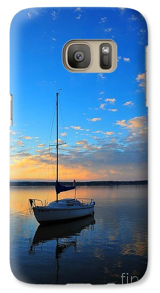 Galaxy Case featuring the photograph Sailing 2 by Terri Gostola
