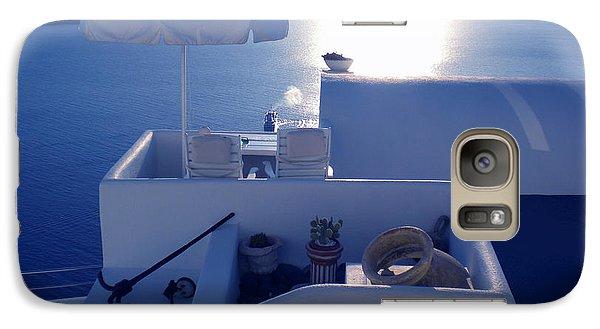 Galaxy Case featuring the photograph Santorini Island Greece by Colette V Hera  Guggenheim