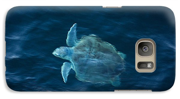 Galaxy Case featuring the photograph Sea Turtle by Tammy Schneider