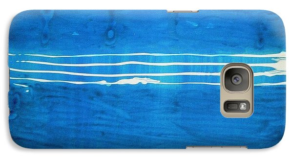 Galaxy Case featuring the painting Seascape by Fereshteh Stoecklein