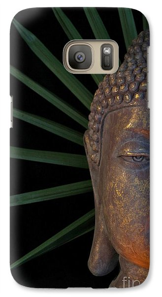 Galaxy Case featuring the photograph Eyes Of Buddha by Dodie Ulery