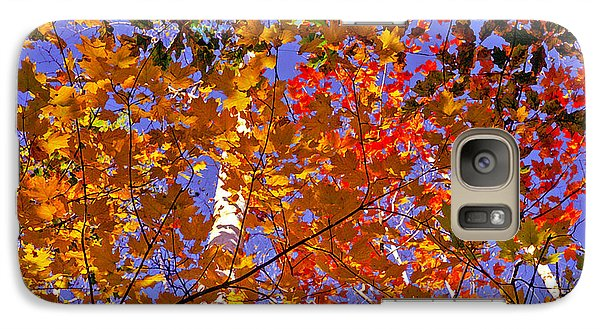Galaxy Case featuring the photograph Shades Of Fall by Dennis Bucklin