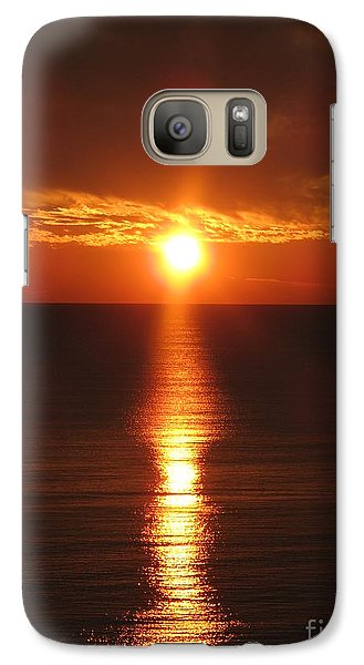 Galaxy Case featuring the photograph Sky On Fire by Christiane Schulze Art And Photography