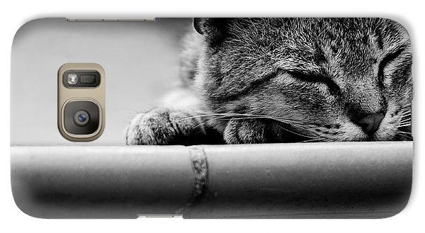 Galaxy Case featuring the photograph Sleeping by Laura Melis