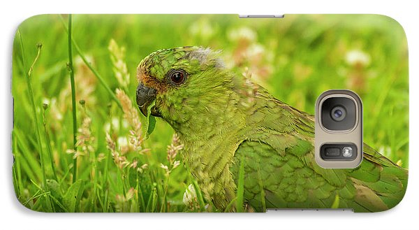Parakeet Galaxy S7 Case - South America, Chile, Patagonia, Torres by Jaynes Gallery