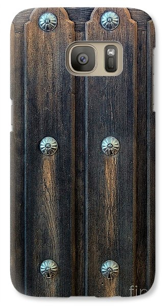 Galaxy Case featuring the photograph Southwestern Door by Gina Savage