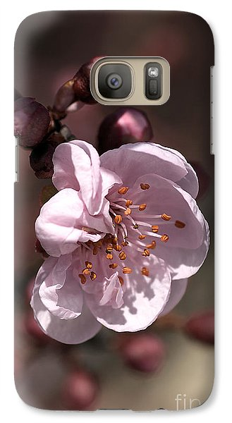 Galaxy Case featuring the photograph Spring Blossom by Joy Watson
