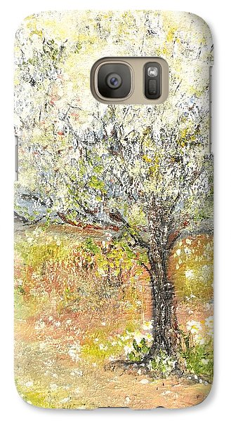 Galaxy Case featuring the painting Spring by Evelina Popilian