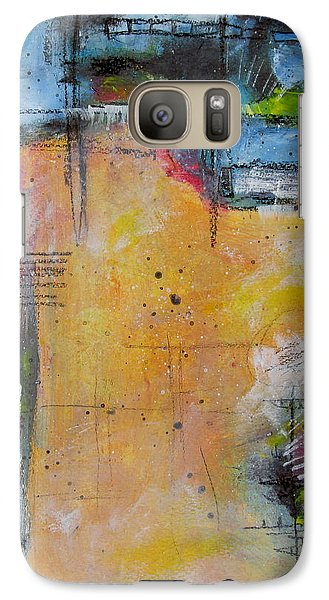 Galaxy Case featuring the painting Spring by Nicole Nadeau