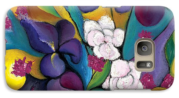 Galaxy Case featuring the painting Spring Symphonia  by Tiffany Davis-Rustam