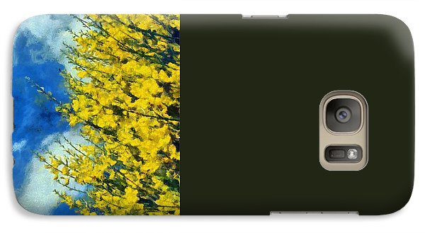 Galaxy Case featuring the photograph Spring Wild Flowers by George Atsametakis