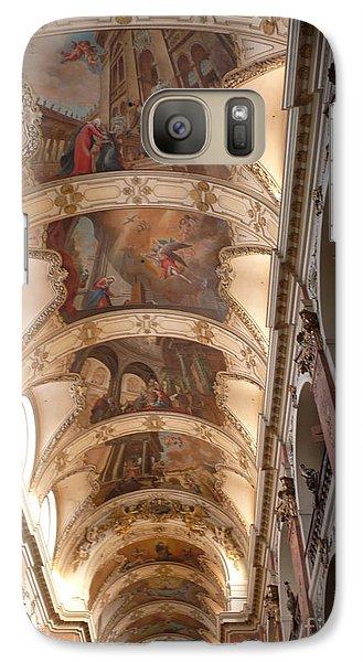 Galaxy Case featuring the photograph St. Nicholas Church by Deborah Smolinske