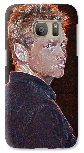 Galaxy Case featuring the photograph Steven Curtis Chapman by Don Olea