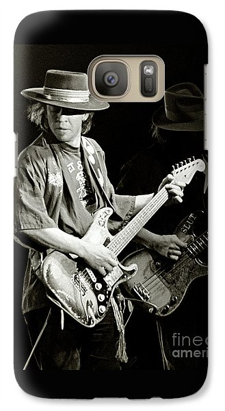 Stevie Ray Vaughan 1984 Galaxy S7 Case