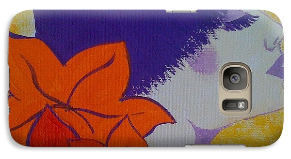 Galaxy Case featuring the painting Summer Beauty by Judi Goodwin