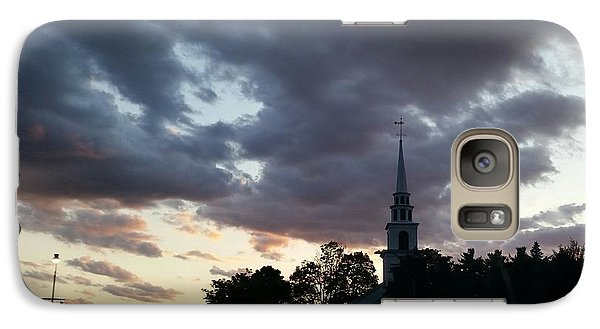 Galaxy Case featuring the photograph Sun Down Time by Rose Wang