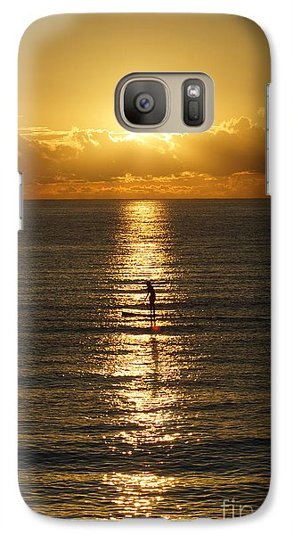 Galaxy Case featuring the photograph Sunrise In Florida Riviera by Rafael Salazar