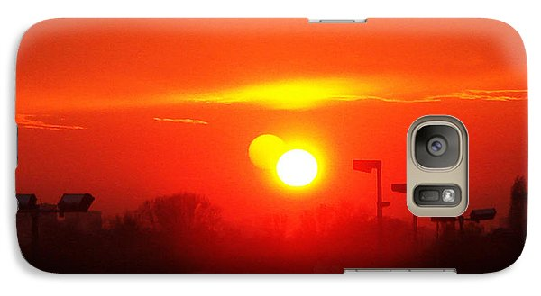 Galaxy Case featuring the photograph Sunset by Jasna Dragun